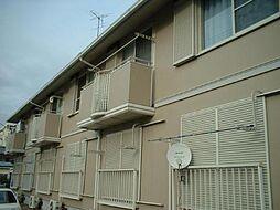千葉県流山市西初石4丁目の賃貸アパートの外観