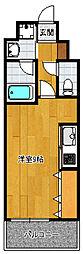 アイセレブ箱崎浪漫邸[402号室]の間取り