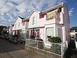 神奈川県厚木市棚沢の賃貸アパートの外観