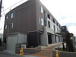 埼玉県川口市江戸3丁目の賃貸アパートの外観