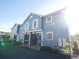 神奈川県厚木市愛甲4丁目の賃貸アパートの外観