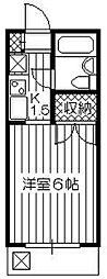 セントラルくすのき台[2階]の間取り