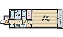 HIYORI Ⅱ[2階]の間取り