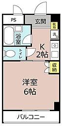 Myoken北小金3[4階]の間取り