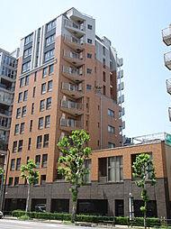 東京都港区南麻布5丁目の賃貸マンションの外観