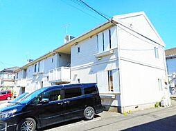 神奈川県大和市上草柳2丁目の賃貸アパートの外観