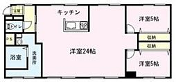 SASAOKA BLD[102号室]の間取り