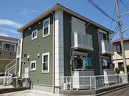 神奈川県横浜市青葉区美しが丘3丁目の賃貸アパートの外観