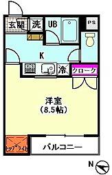 ココ・イチキ[101号室]の間取り