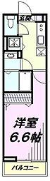JR五日市線 秋川駅 徒歩8分の賃貸アパート 1階1Kの間取り