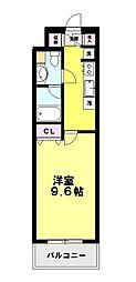コンフォート大泉学園II[502号室]の間取り