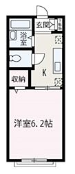 埼玉県和光市丸山台2丁目の賃貸アパートの間取り
