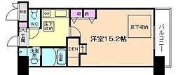 NORTH VILLAGE BIRTH PLACE本館[8階]の間取り