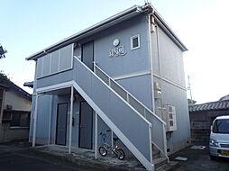 徳島県徳島市津田町3丁目の賃貸アパートの外観