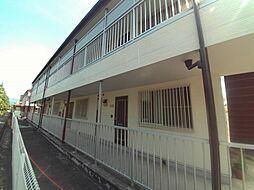 愛知県岡崎市上地6丁目の賃貸アパートの外観