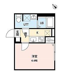 サンライズ豊住(サンライズトヨスミ)[1階]の間取り