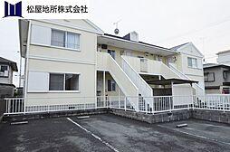 愛知県豊橋市堂坂町の賃貸アパートの外観