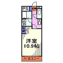 Excellent ふじなみ[2階]の間取り