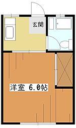 多田ハイツ[2階]の間取り
