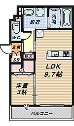 見上様 新築共同住宅[3階]の間取り