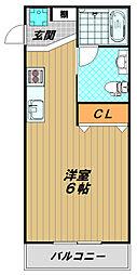 Gulia須磨浦I[1階]の間取り