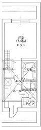 (仮称)菊名5丁目新築アパートメント計画 D棟[104号室]の間取り