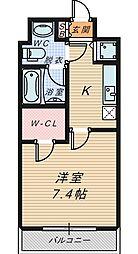 T's square城東野江[506号室]の間取り