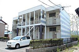 愛知県豊川市御油町当座山の賃貸アパートの外観