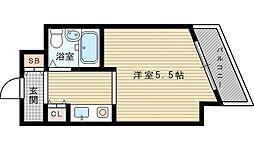 ビスタ新大阪III[10階]の間取り