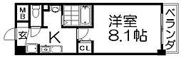 トミー船橋[2階]の間取り