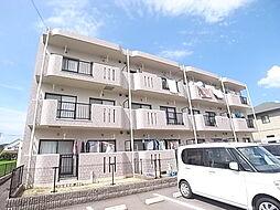 岡山県総社市福井の賃貸マンションの外観