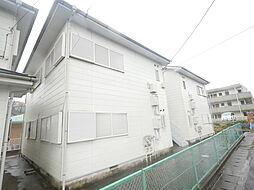神奈川県伊勢原市東大竹の賃貸アパートの外観