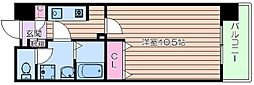 エクセレントOBPバンクス[3階]の間取り