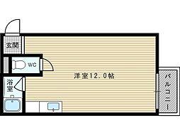 プティハイム菅原[5階]の間取り