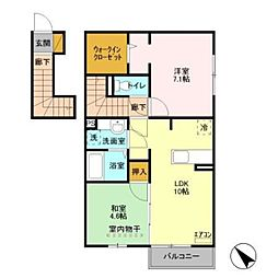FCB2[2階]の間取り