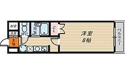 ヒストリカル堺[5階]の間取り
