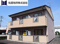 愛知県豊川市白鳥5丁目の賃貸アパートの外観