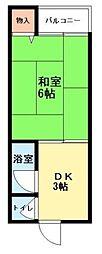 ミキハウスIII[102号室]の間取り