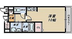 エステートレイ1[2階]の間取り