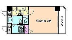 フォレステージ福島[8階]の間取り