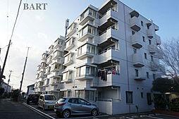 神奈川県藤沢市大鋸の賃貸マンションの外観