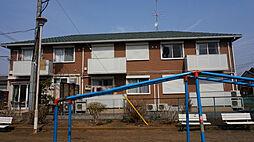 茨城県筑西市関本中の賃貸アパートの外観