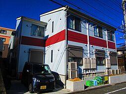 東京都多摩市唐木田1丁目の賃貸アパートの外観