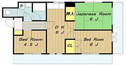 白栄舎ビル[302号室]の間取り