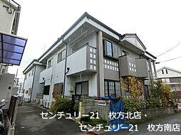 大阪府枚方市磯島元町の賃貸マンションの外観