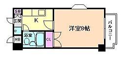 メゾンベルクレール[4階]の間取り