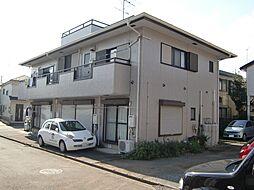 東京都八王子市中野町の賃貸アパートの外観