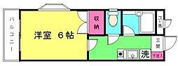 ファミール並木II[3階]の間取り