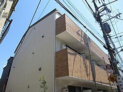 東京都大田区大森東2丁目の賃貸アパートの外観