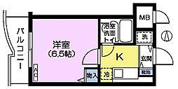 CITY高田馬場[4階]の間取り